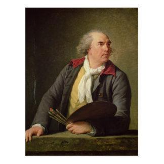 Cartão Postal Retrato de Hubert Robert 1788