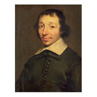 Cartão Postal Retrato de Isaac-Louis Lemaistre de Sacy 1658