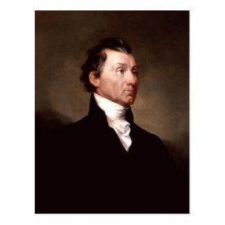 Cartão Postal Retrato de James Monroe por Samuel Morse