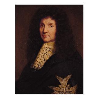 Cartão Postal Retrato de Jean-Baptiste Colbert de Torcy 1667