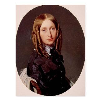 Cartão Postal Retrato de Jean Ingres- da senhora Frederic Reiset