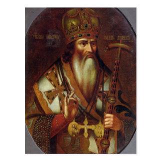 Cartão Postal Retrato de Joachim, patriarca de Moscovo
