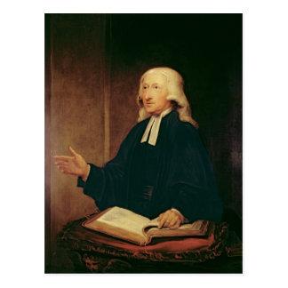 Cartão Postal Retrato de John Wesley 1788