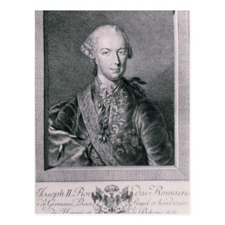Cartão Postal Retrato de Joseph II