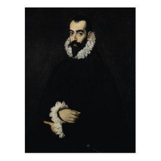 Cartão Postal Retrato de Juan Alfonso de Pimentel y Herrera