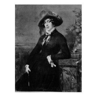 Cartão Postal Retrato de Lola Montez, 1844