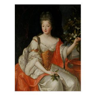 Cartão Postal Retrato de Louise-Francoise de Bourbon