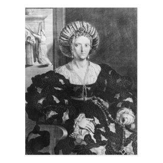 Cartão Postal Retrato de Lucrezia Borgia