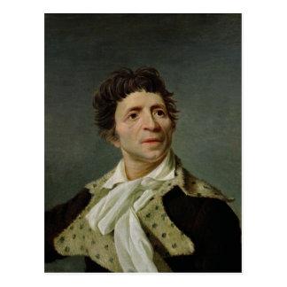 Cartão Postal Retrato de Marat 1793