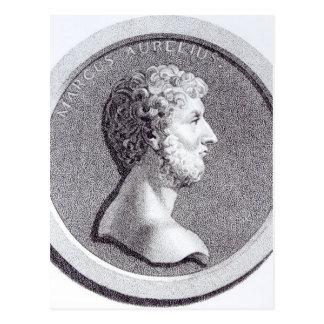 Cartão Postal Retrato de Marcus Aurelius