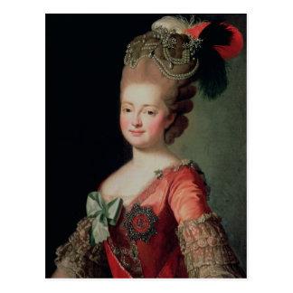 Cartão Postal Retrato de Maria Fyodorovna