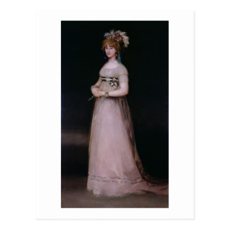 Cartão Postal Retrato de Maria Theresa de Bourbon y Vallabriga,