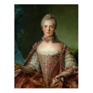 Cartão Postal Retrato de Marie Adelaide 1756