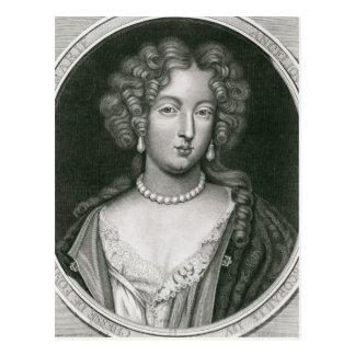 Cartão Postal Retrato de Marie Angelique de Scoraille