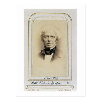 Cartão Postal Retrato de Michael Faraday (1791-1867) (albume p