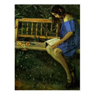 Cartão Postal Retrato de Mikhail Nesterov- de Natasha Nesterova