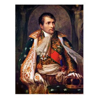 Cartão Postal Retrato de Napoleon Bonaparte por Andrea Appiani