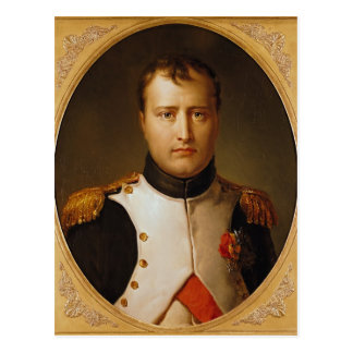 Cartão Postal Retrato de Napoleon no uniforme