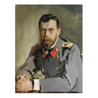 Cartão Postal Retrato de Nicholas II, 1900