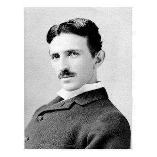 Cartão Postal Retrato de Nikola Tesla
