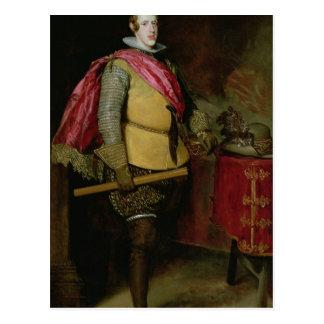 Cartão Postal Retrato de Philip IV da espanha