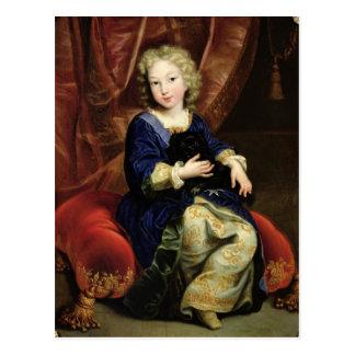 Cartão Postal Retrato de Philippe de France