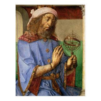 Cartão Postal Retrato de Ptolemy, c.1475