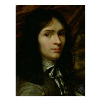 Cartão Postal Retrato de Rene Descartes