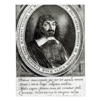Cartão Postal Retrato de Rene Descartes, 1644