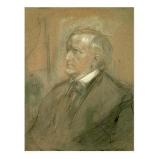 Cartão Postal Retrato de Richard Wagner 1868