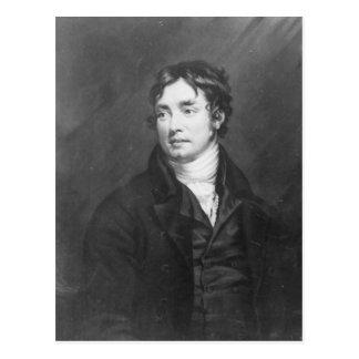 Cartão Postal Retrato de Samuel Taylor Coleridge
