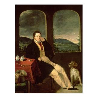 Cartão Postal Retrato de Schubert