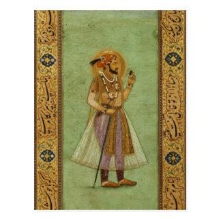 Cartão Postal Retrato de Shah Jahan, 1631, Mughal