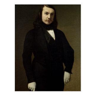 Cartão Postal Retrato de Theophile Gautier, 1839