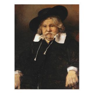 Cartão Postal Retrato de um ancião, 1667
