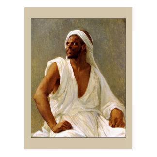 Cartão Postal Retrato de um árabe por Cabanel