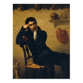 Cartão Postal Retrato de um artista em seu estúdio