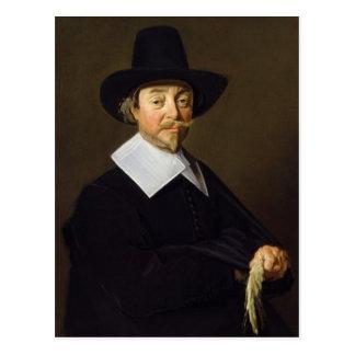 Cartão Postal Retrato de um homem, c.1643-45
