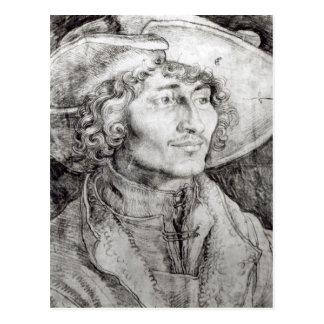 Cartão Postal Retrato de um homem desconhecido, 1521