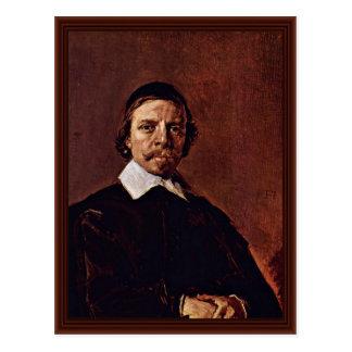 Cartão Postal Retrato de um homem possivelmente um ministro