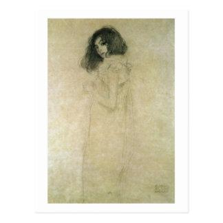 Cartão Postal Retrato de uma jovem mulher, 1896-97