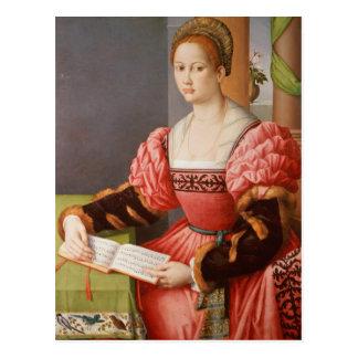 Cartão Postal Retrato de uma senhora