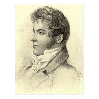 Cartão Postal Retrato de Washington Irving