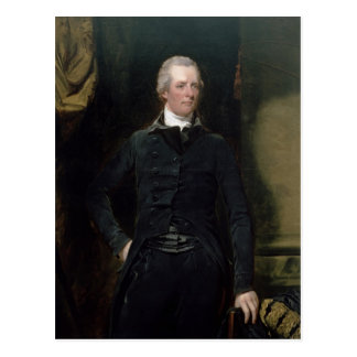 Cartão Postal Retrato de William Pitt o mais novo