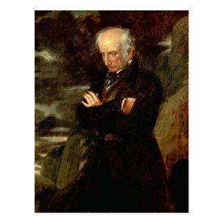 Cartão Postal Retrato de William Wordsworth 1842