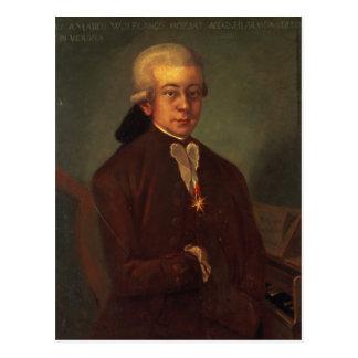 Cartão Postal Retrato de Wolfgang Amadeus Mozart 2