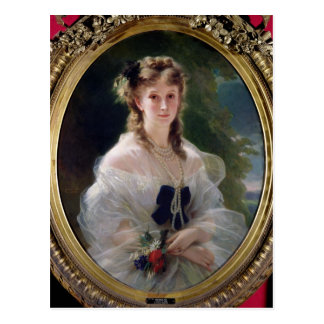 Cartão Postal Retrato do condessa de Sophie Troubetskoy de