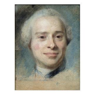 Cartão Postal Retrato do d'Alembert 1753 de Jean Le Rond