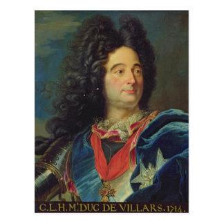 Cartão Postal Retrato do duque de Louis-Claude-Hector de
