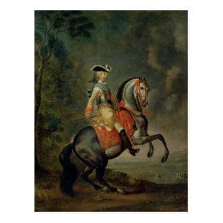 Cartão Postal Retrato do duque grande Peter III